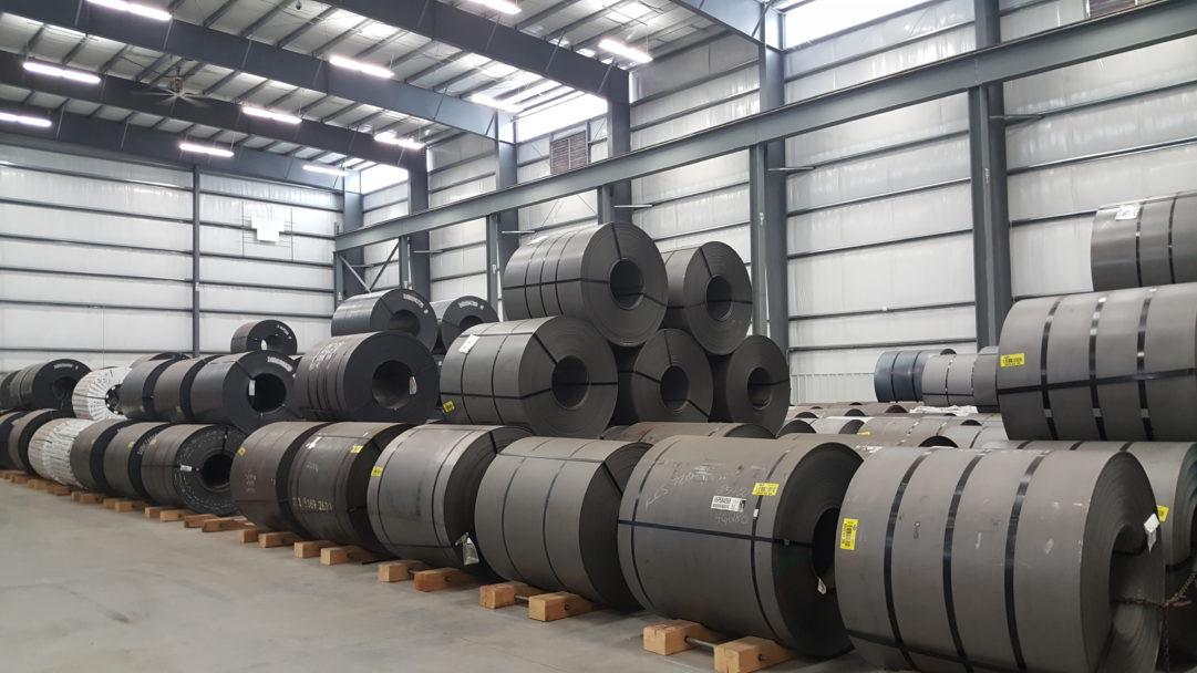 PVS Metals Coil Bay