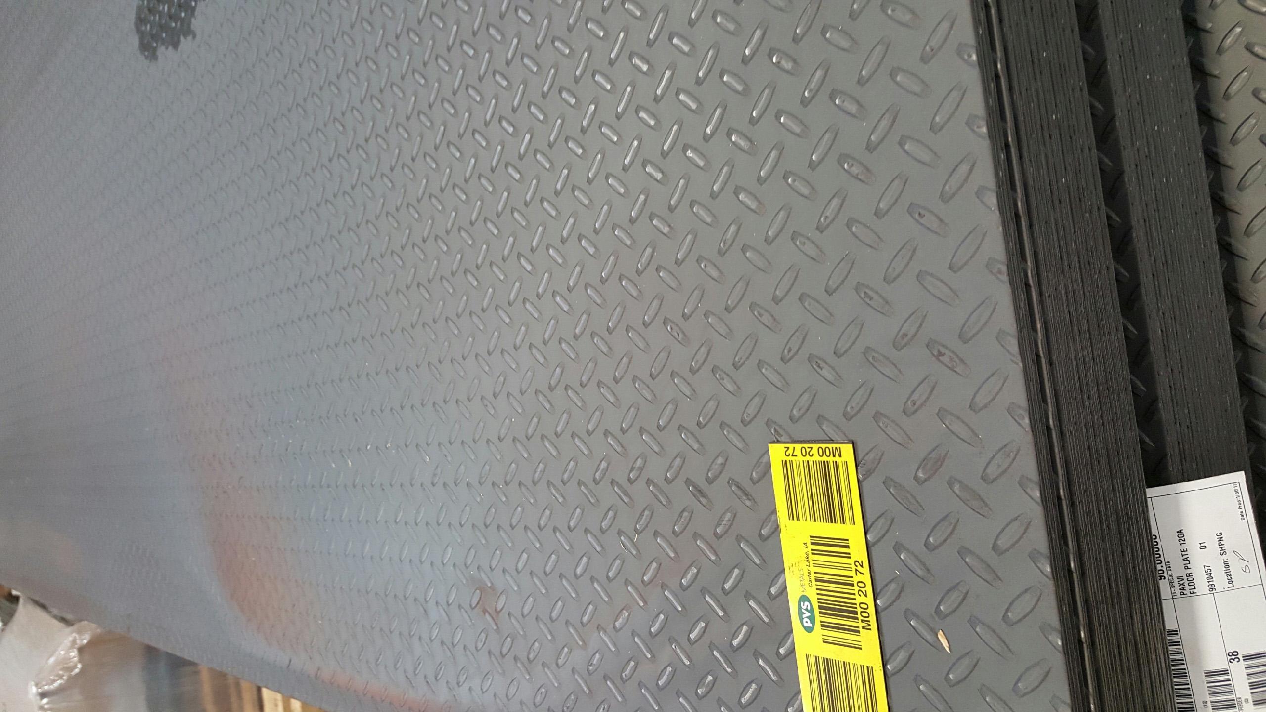 Aluminum Floor Plate 2